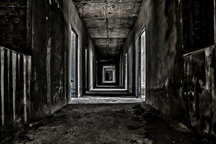 Haunted hallway in Los Angeles