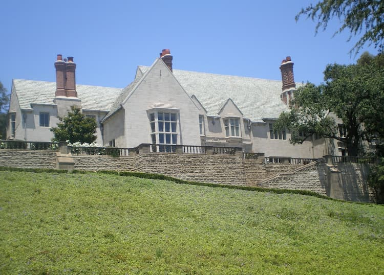 View of Greystone Mansion