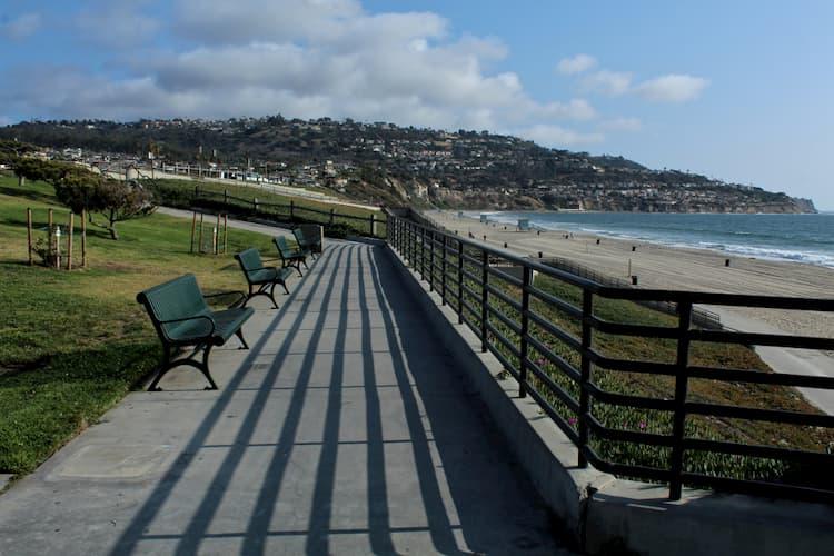 South Bay walkway along beach