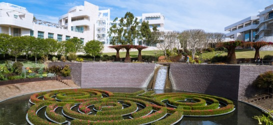 the getty center and gardens in los angeles