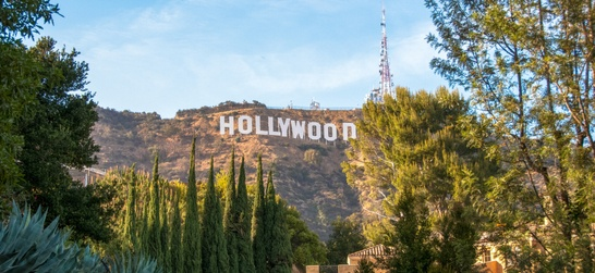 the hollywood sign in griffith park